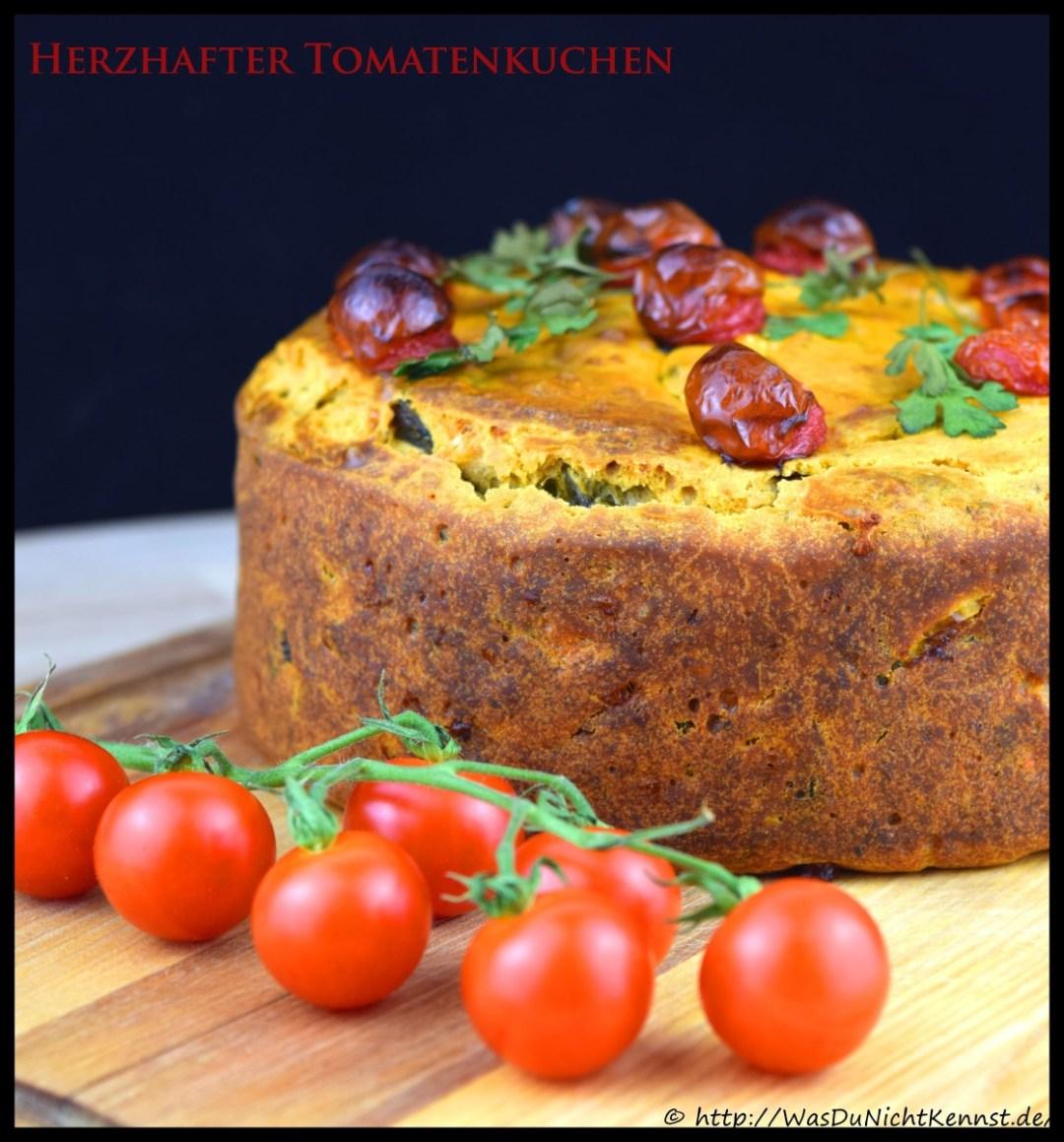 Herzhafter Tomatenkuchen