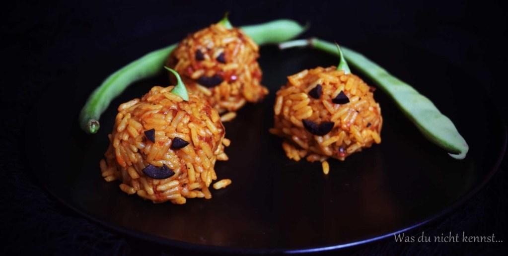 Halloween-Special Reiskürbisse