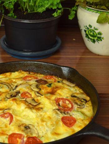 Gemüse-Omelett