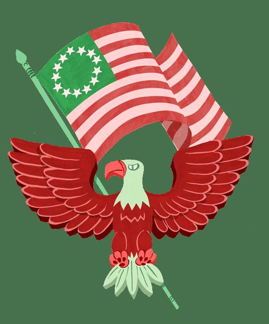 American Bald Eagle: Alternative History Card Game