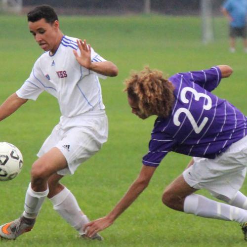 Washburn soccer player Ty Benjaafar