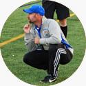 Washburn Varsity Soccer Coach Aaron Percy