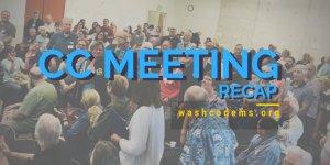 CC Meeting Recap - picture of CC meeting