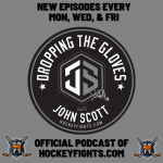 Dropping the Gloves with John Scott Podcast Art