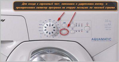 Çamaşır makinesindeki programlar ters gidiyor