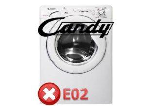 Candy'de E02 hatası