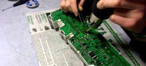Kontrol panelinin kontrol edilmesi ve onarılması