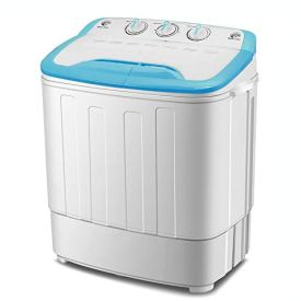 4 Ever Mini Washing Machine Portable Twin Tub Washer And Spin Dryer