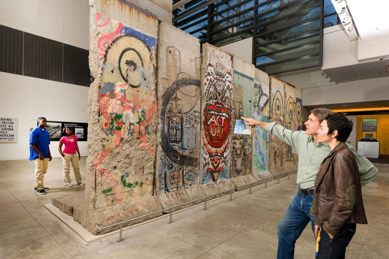 Newseum - Berlin Wall Exhibit - Museums in Washington, DC