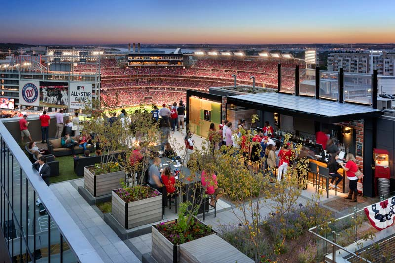The 20+ Best Rooftop Bars & Restaurants in DC | Washington.org on Backyard Bar With Roof id=48017