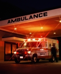 emergency room ambulance
