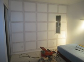 Grid wall is up!