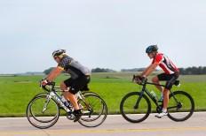 Sunday bike ride from Bennington to the fairgrounds.