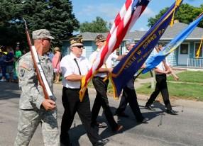 Color Guard, WCF Parade, Arlington