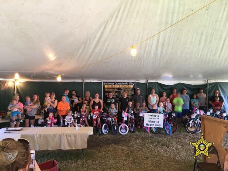 2018 County Fair Bike Winners