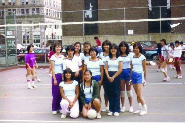 1981 CYC girls NACIVT in Boston