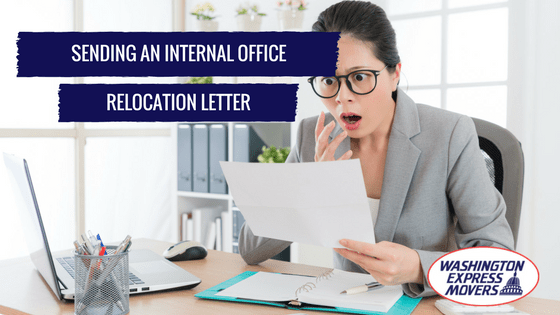 Sending an Internal Office Relocation Letter