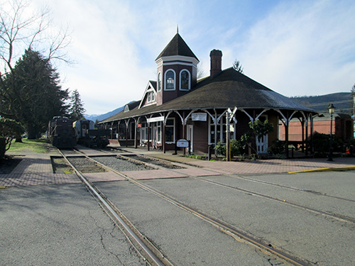 Snoqualmie Train Depot