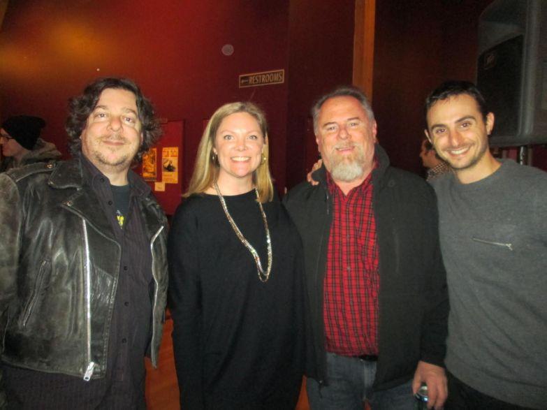 Matt Levinthal, Washington Filmworks Executive Director Amy Lillard, Doug Du Mas, and Brian Campbell.