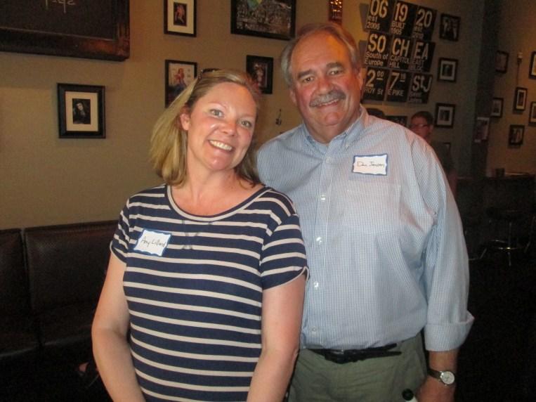 Washington Filmworks Executive Director Amy Lillard and Board Chair Don Jensen.
