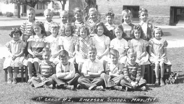 Emerson Elementary School First Grade Class, May 1949