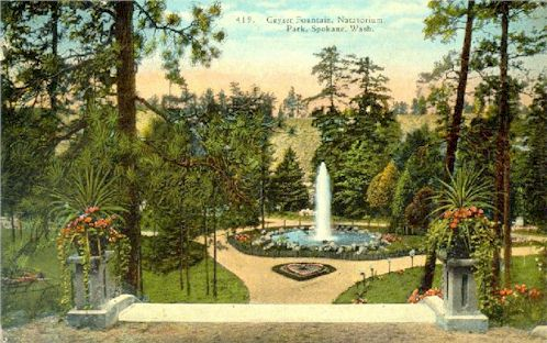 Geyser Fountain, Natatorium Park