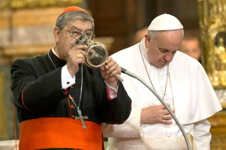 Bildergebnis für papa francisco san genaro