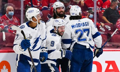 The Lightning are one win away from their second straight Stanley Cup.