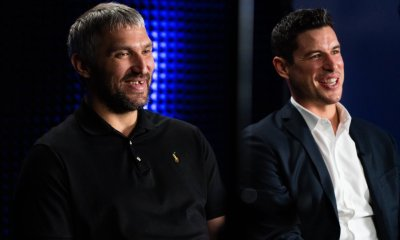 Alex Ovechkin and Sidney Crosby sat down together at the NHL Media Tour