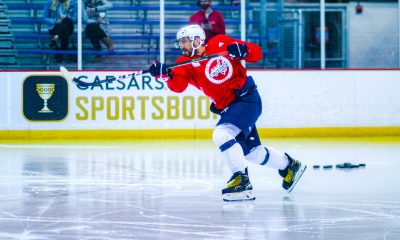 Capitals captain Alex Ovechkin has stood out at training camp.