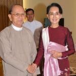 Aung San Suu Kyi Holds Transition Talks With Myanmar President (Photo AP)