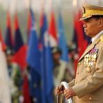 Myanmar's ex-dictator endorses Suu Kyi as 'future leader' (photo AFP)