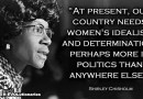 Before Hillary Clinton, there was Shirley Chisholm