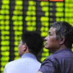 China's stocks start the week with sharp losses