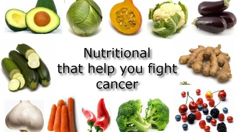 Nutritional that help you fight cancer