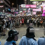 Hong Kong police and protesters clash (gettyimages.com)