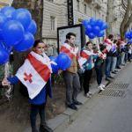 Georgia protest Gazprom deal