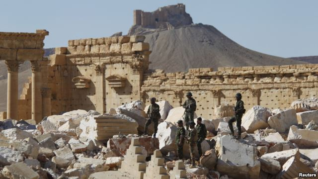 Mass grave found in Syria's Palmyra
