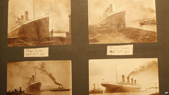 Titanic memorabilia reveals new