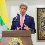 Kerry visits Myanmar