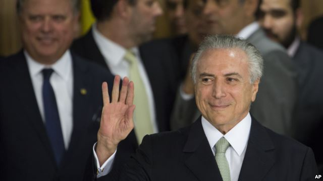 Michel Temer becomes Brazil's acting President