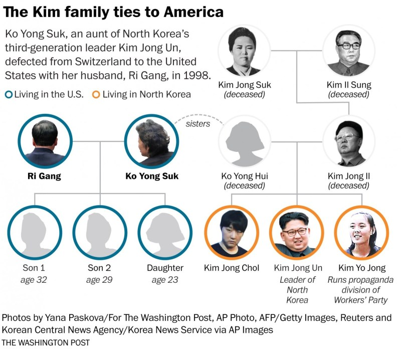 The secret life of Kim Jong Un's aunt