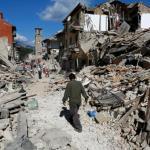 Earthquake struck Italy, and Myanmar