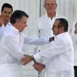 Historic peace deal in Colombia