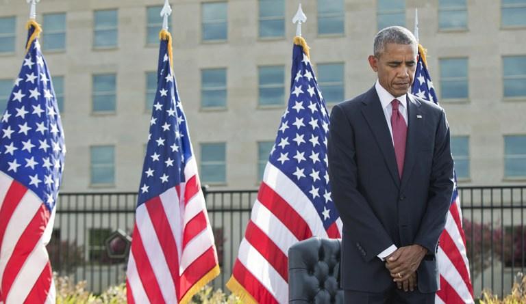 Obama urges Americans to unite