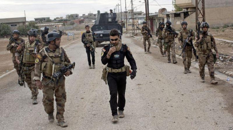 Iraqi forces enter Mosul city limits