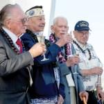 Survivors of Pearl Harbor honor shipmates