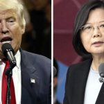 Trump speaks with Taiwanese president