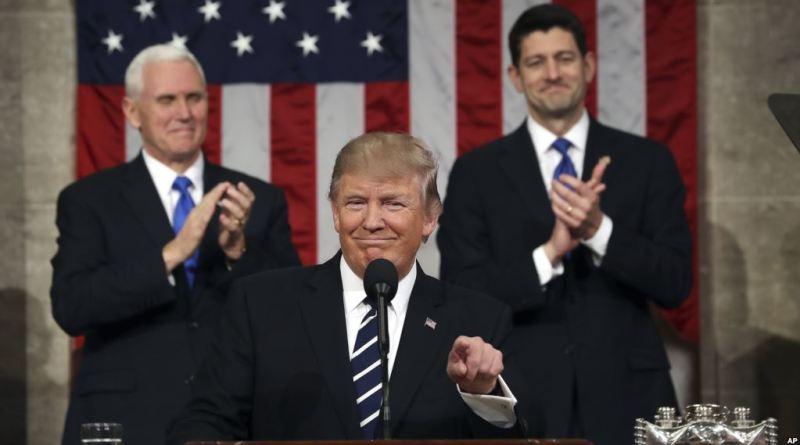 Trump's first address to Congress
