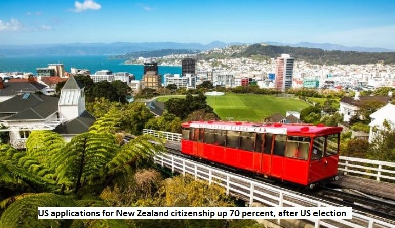 US applications for New Zealand citizenship up 70%